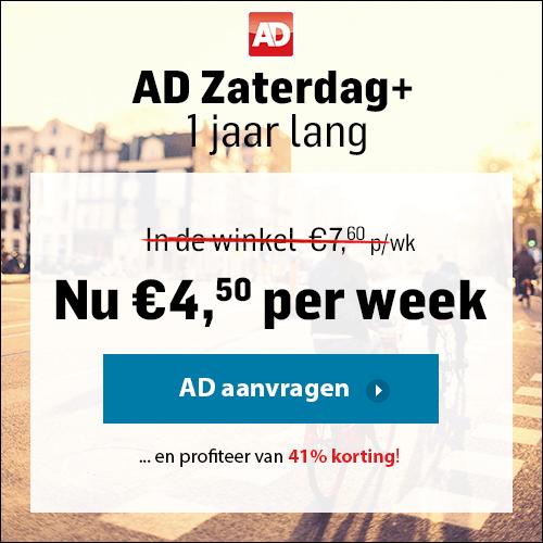 Zaterdagplus actie AD