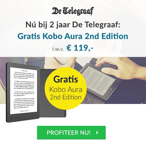 Kobo reader gratis bij de Telegraaf