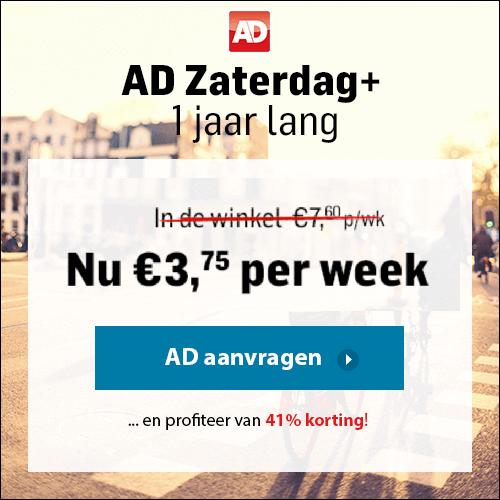 Zaterdagplus aanbieding AD